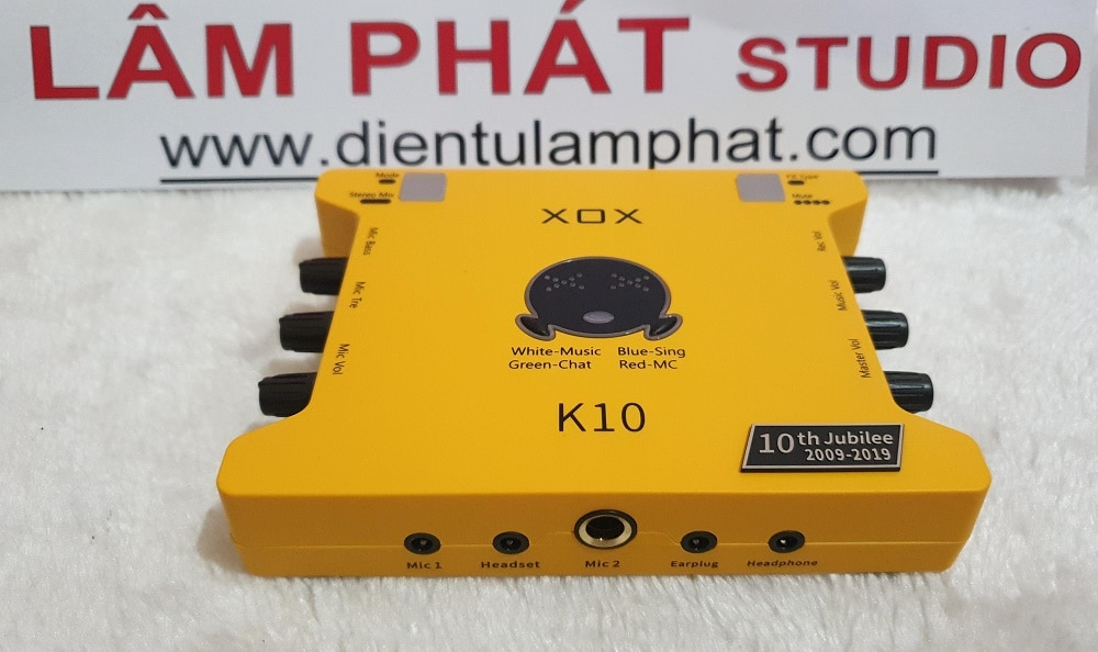 Hướng dẫn sử dụng sound card XOX K10 10th Jubilee 2020