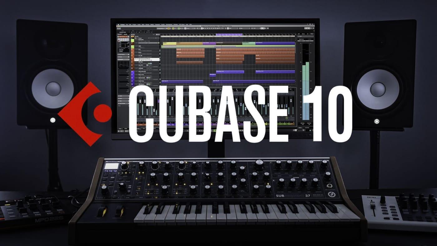 cài phần mềm cubase 10, phần mềm mix nhạc miễn phí